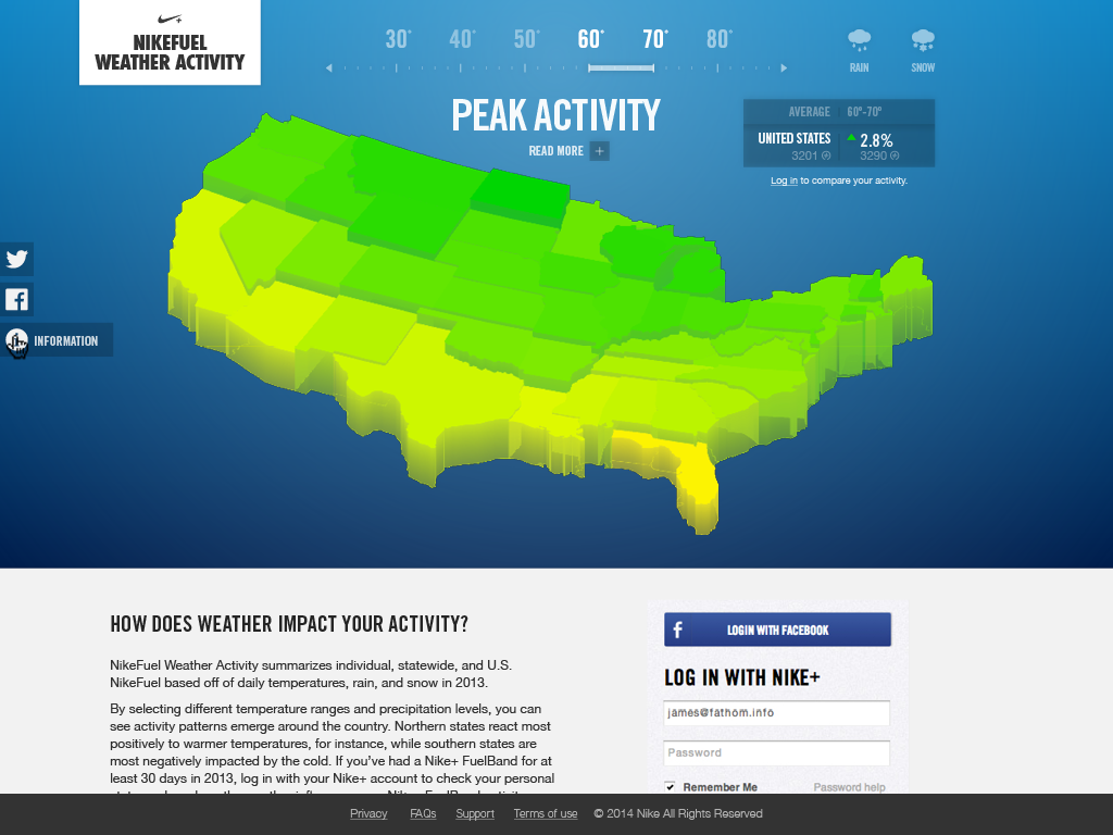 Lets Talk About The Weather Fathom - Map of us where you can highlight states